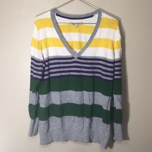 Soft stripe sweater, very good condition